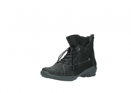 wolky lace up shoes 01574 bello 10000 black nubuck_22