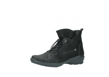 wolky lace up shoes 01574 bello 10000 black nubuck_23