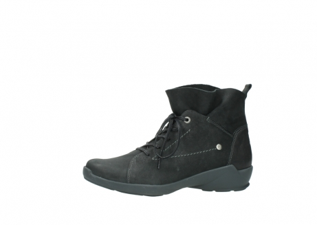 wolky lace up shoes 01574 bello 10000 black nubuck_24