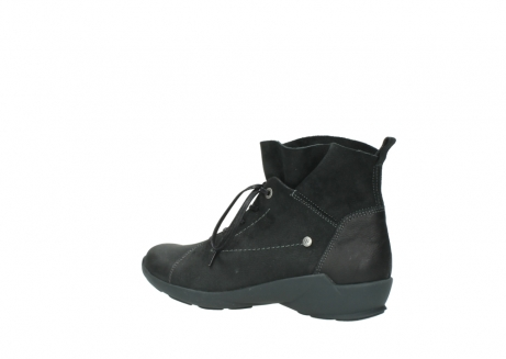 wolky lace up shoes 01574 bello 10000 black nubuck_3