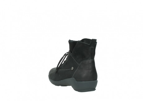 wolky lace up shoes 01574 bello 10000 black nubuck_5