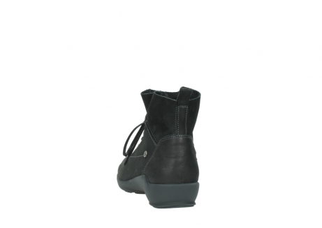 wolky lace up shoes 01574 bello 10000 black nubuck_6