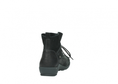 wolky lace up shoes 01574 bello 10000 black nubuck_8