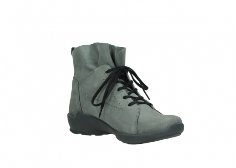 wolky chaussures a lacets 01574 bello 10220 nubuck gris_16