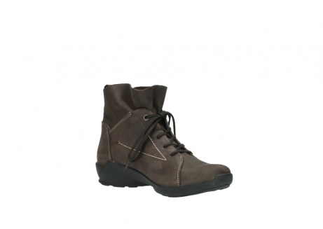 wolky chaussures a lacets 01574 bello 103000 nubuck marron_16