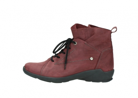 wolky lace up shoes 01574 bello 10510 burgundy nubuck_1