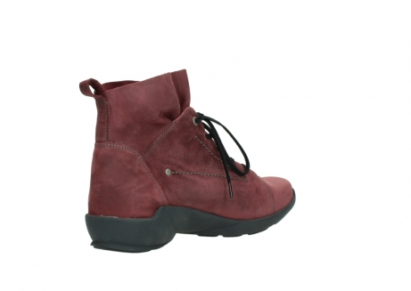 wolky lace up shoes 01574 bello 10510 burgundy nubuck_10