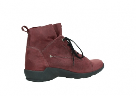 wolky lace up shoes 01574 bello 10510 burgundy nubuck_11