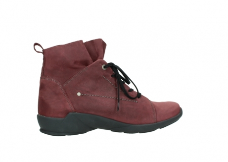 wolky lace up shoes 01574 bello 10510 burgundy nubuck_12