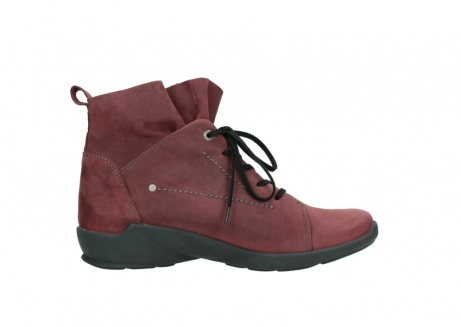 wolky lace up shoes 01574 bello 10510 burgundy nubuck_13