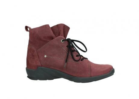 wolky lace up shoes 01574 bello 10510 burgundy nubuck_14