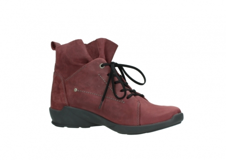 wolky lace up shoes 01574 bello 10510 burgundy nubuck_15