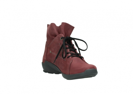 wolky lace up shoes 01574 bello 10510 burgundy nubuck_17