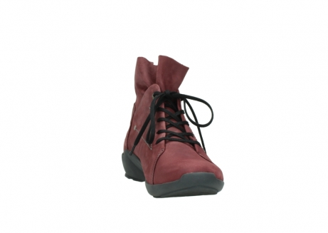 wolky lace up shoes 01574 bello 10510 burgundy nubuck_18