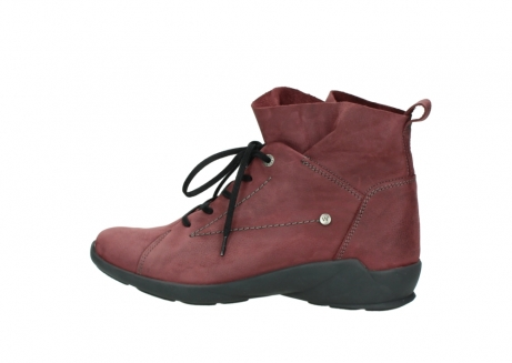 wolky lace up shoes 01574 bello 10510 burgundy nubuck_2