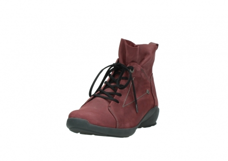 wolky lace up shoes 01574 bello 10510 burgundy nubuck_21