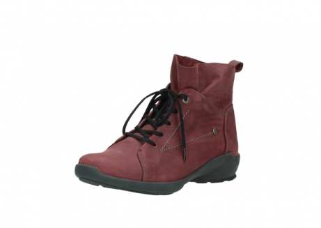 wolky lace up shoes 01574 bello 10510 burgundy nubuck_22