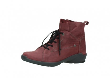 wolky lace up shoes 01574 bello 10510 burgundy nubuck_23