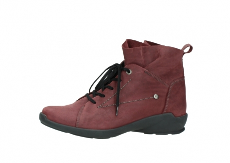 wolky lace up shoes 01574 bello 10510 burgundy nubuck_24