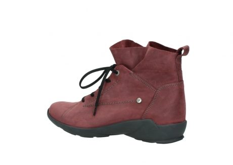 wolky lace up shoes 01574 bello 10510 burgundy nubuck_3