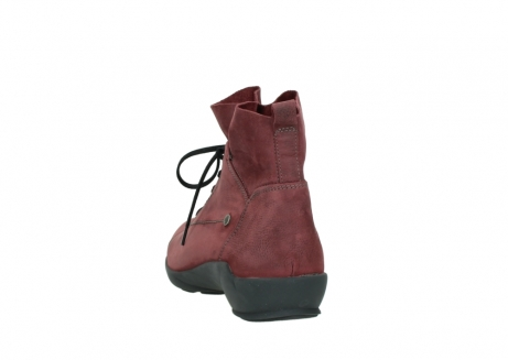 wolky lace up shoes 01574 bello 10510 burgundy nubuck_6