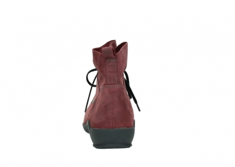 wolky lace up shoes 01574 bello 10510 burgundy nubuck_7