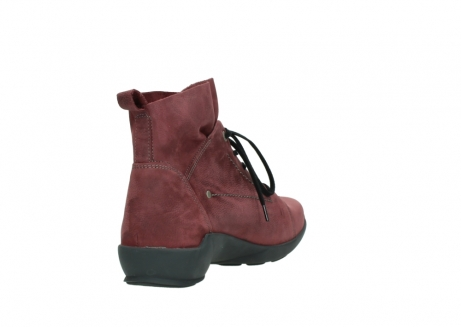 wolky lace up shoes 01574 bello 10510 burgundy nubuck_9
