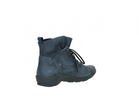 wolky chaussures a lacets 01574 bello 10800 nubuck bleu_10