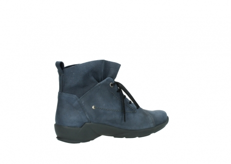 wolky chaussures a lacets 01574 bello 10800 nubuck bleu_11
