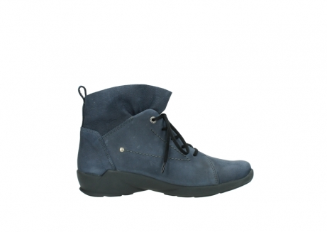 wolky chaussures a lacets 01574 bello 10800 nubuck bleu_13