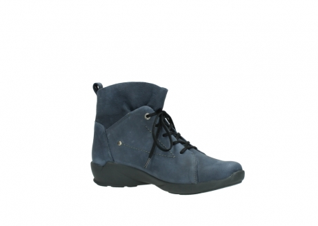 wolky chaussures a lacets 01574 bello 10800 nubuck bleu_15
