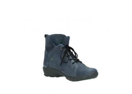 wolky chaussures a lacets 01574 bello 10800 nubuck bleu_16