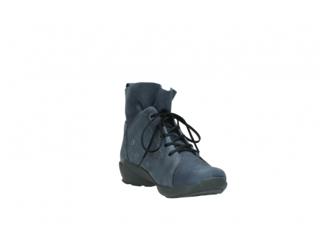 wolky chaussures a lacets 01574 bello 10800 nubuck bleu_17
