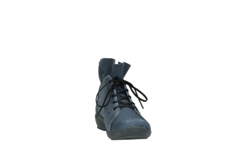 wolky chaussures a lacets 01574 bello 10800 nubuck bleu_18