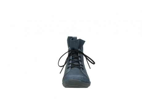 wolky lace up shoes 01574 bello 10800 dark blue nubuck_19