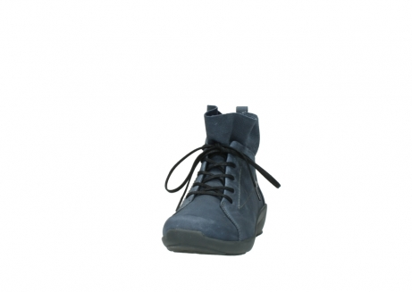 wolky chaussures a lacets 01574 bello 10800 nubuck bleu_20