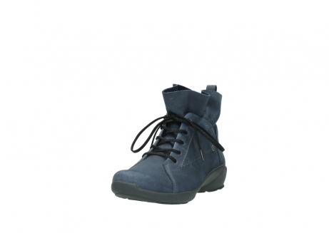 wolky chaussures a lacets 01574 bello 10800 nubuck bleu_21
