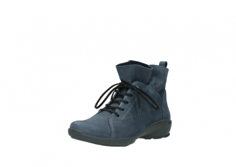wolky chaussures a lacets 01574 bello 10800 nubuck bleu_22