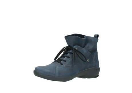 wolky chaussures a lacets 01574 bello 10800 nubuck bleu_23