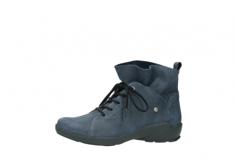wolky chaussures a lacets 01574 bello 10800 nubuck bleu_24