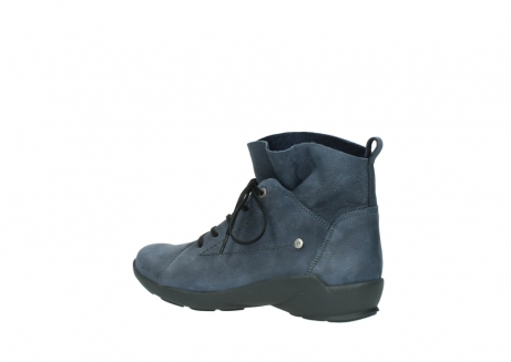 wolky chaussures a lacets 01574 bello 10800 nubuck bleu_3
