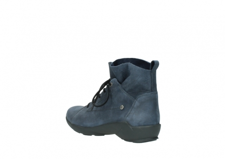 wolky chaussures a lacets 01574 bello 10800 nubuck bleu_4