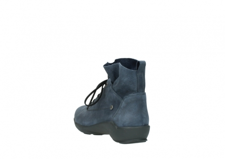 wolky chaussures a lacets 01574 bello 10800 nubuck bleu_5