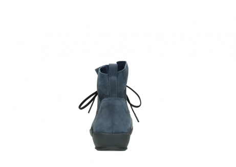 wolky chaussures a lacets 01574 bello 10800 nubuck bleu_7