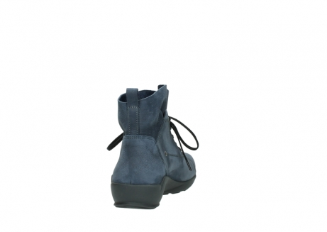 wolky chaussures a lacets 01574 bello 10800 nubuck bleu_8