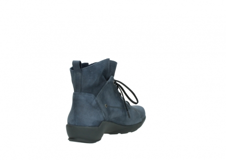 wolky chaussures a lacets 01574 bello 10800 nubuck bleu_9