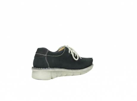 wolky lace up shoes 01625 dutch 10070 black nubuck_10