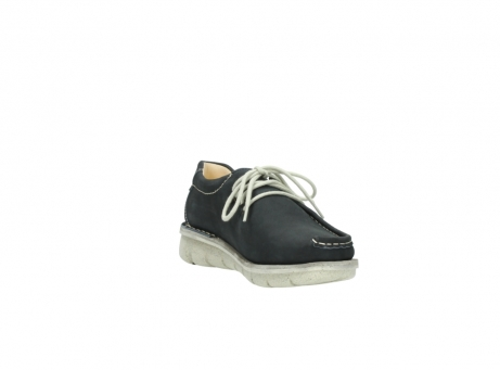 wolky lace up shoes 01625 dutch 10070 black nubuck_17