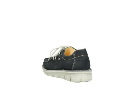 wolky lace up shoes 01625 dutch 10070 black nubuck_5
