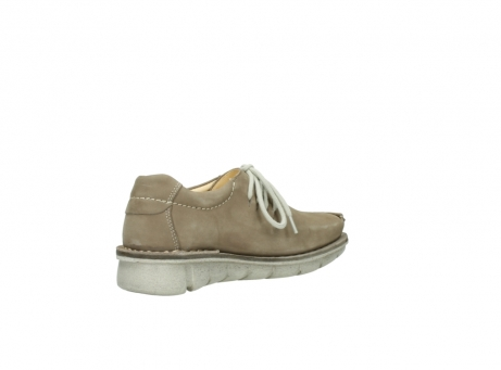 wolky veterschoenen 01625 dutch 10150 taupe nubuck_10
